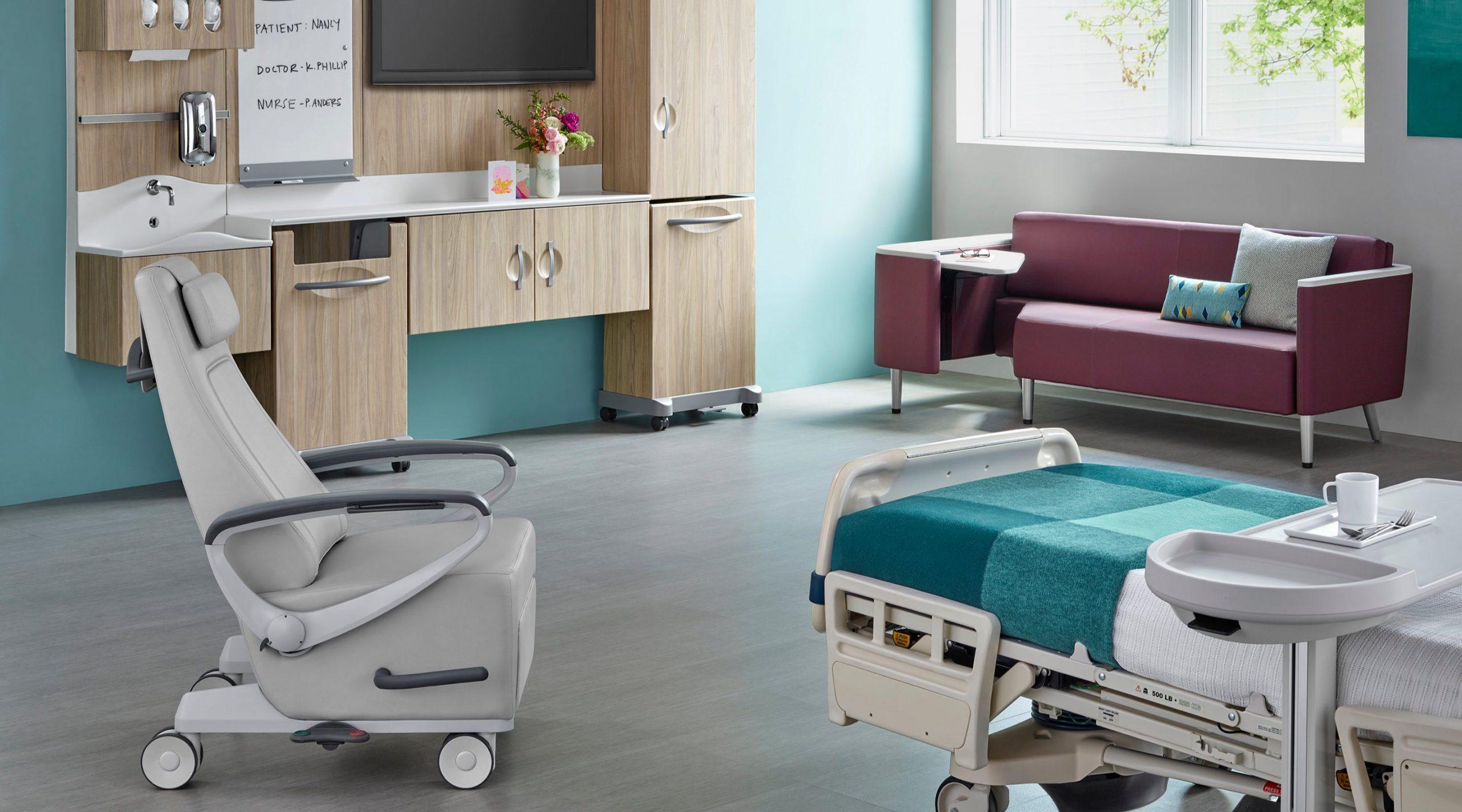 Habitaciones de pacientes